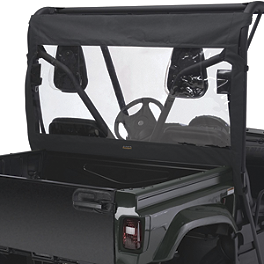Classic Accessories UTV Rear Window - Black - Classic Accessories UTV Cab Enclosure - Black