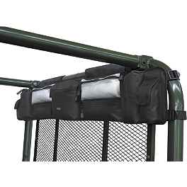 Classic Accessories Universal UTV Roll Cage Organizer - Black - Classic Accessories Quad Gear Hardsided Front Cargo Bag