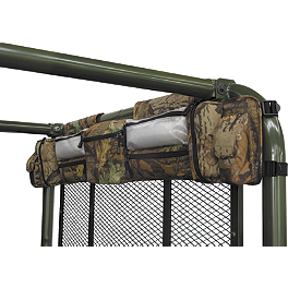 Classic Accessories Universal UTV Roll Cage Organizer - Camo - Classic Accessories UTV Rear Window - Black