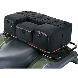 Classic Accessories Quad Gear Extreme Rack Bag - A.T.V. Cargo Bag - Black