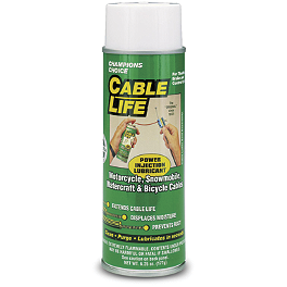 Cable Lubricant - 6.25oz - 1989 Kawasaki EX500A Motion Pro Clutch Cable