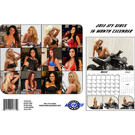Moto365 2013 ATV Girls Calendar - Main