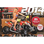 2014 ATV Girls Calendar - Motorcycle Collectibles