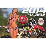 2014 MX Girls Calendar - Moto365 Motorcycle Collectibles
