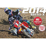 2014 Moto-X Calendar - Moto365 Motorcycle Collectibles