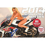 2014 Sportbike Hotties Calendar - KTM 2014-350EXCF---STREETBIKE Dirt Bike Gifts