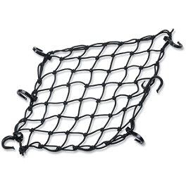 Adjustable Cargo Net - BikeMaster Heavy Duty 3-Hook Bungee