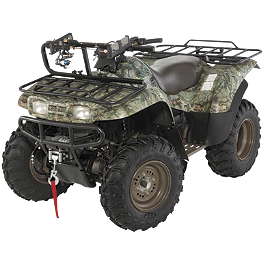 Cycle Country High Bar Frame With Rod Locker - 2001 Polaris MAGNUM 325 4X4 Cycle Country Bearforce Straight Steel Plow Combo