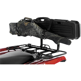 Cycle Country High Bar Frame With Gun Locker - Kolpin Gun Boot 4 Transport System - Black