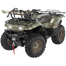 Cycle Country High Bar Frame With Bow Locker - 2001 Yamaha KODIAK 400 2X4 Cycle Country Bearforce Pro Series Plow Combo