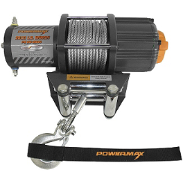 Cycle Country Power Maxx Winch - 2,500 Pound - 2001 Suzuki LT-F500F QUADRUNNER 4X4 Cycle Country Bearforce Pro Series Plow Combo