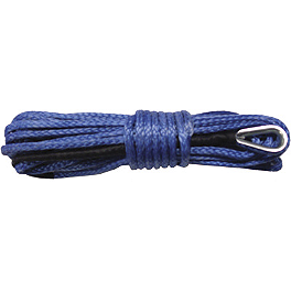 Cycle Country Synthetic Rope - 50Ft - Warn Synthetic Rope Extension - 50 Feet