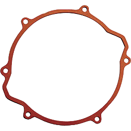 Newcomb Clutch Cover Gasket - 2004 Honda TRX450R (KICK START) Boyesen Clutch Cover - Black