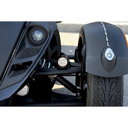 Custom Dynamics Cool Magic LED Driving Lights - Custom Dynamics LED Front Fender Tips
