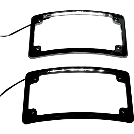 Custom Dynamics LED License Plate Frame - Main