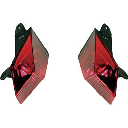 Custom Dynamics LED Tail Light Conversion Kit - Custom Dynamics Double Feature Replacement Rear Reflector Lens