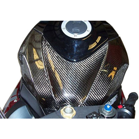 Carbon Fiber Works Carbon Fiber Tank Cover - Main