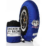 Chicken Hawk Pole Position Tire Warmers - 110-120 / 155-170 - Motorcycle Tire and Wheel Accessories
