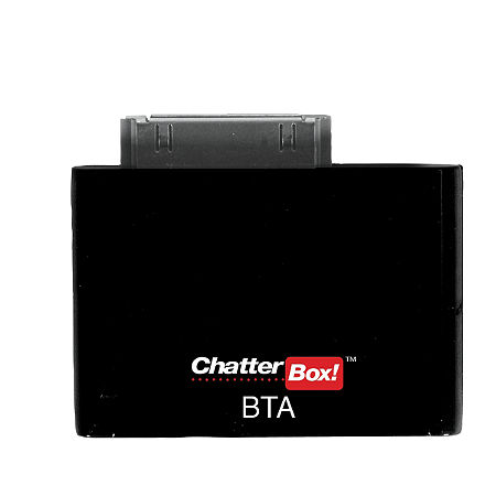 Chatterbox iPhone/iPOD Bluetooth Adapter - Main