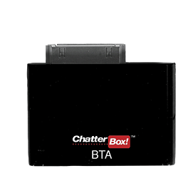Chatterbox iPhone/iPOD Bluetooth Adapter - Chatterbox 3.5mm Bluetooth Adapter