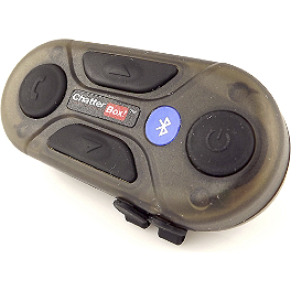 Chatterbox Duo Communicator - Chatterbox XBI Bluetooth Intercom - Open Face Helmet