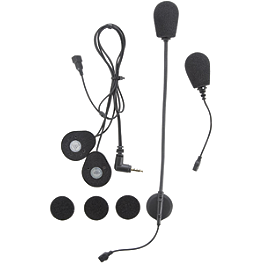 Chatterbox X1 Slim Universal Headset - J&M Audio HS-8154B Headset For Full Face Helmets