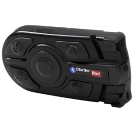 Chatterbox XBI2-H Bluetooth Intercom For HJC Helmets - Chatterbox XBI2 Bluetooth Intercom - Open Face