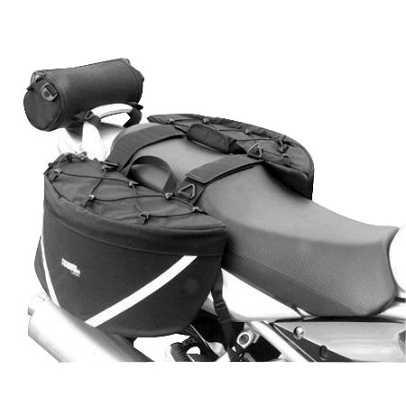 Chase Harper GR2 Saddlebags With Bungee Net - Main