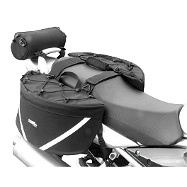 Chase Harper GR2 Saddlebags With Bungee Net - Firstgear Silverstone Saddlebags