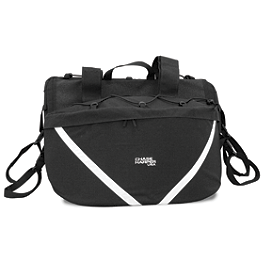 Chase Harper SR2 Saddlebags With Bungee Net - Chase Harper 950 Expandable Tank Bag