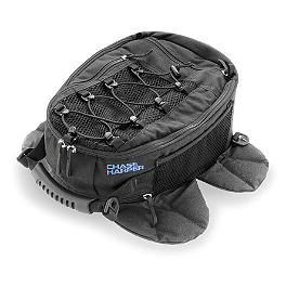 Chase Harper 650 Magnetic Tank Bag - Chase Harper SR2 Saddlebags With Bungee Net