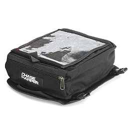 Chase Harper 750 Compact Tank Bag - Firstgear Onyx Magnetic Tank Bag