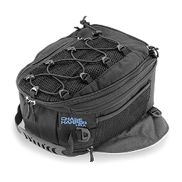 Chase Harper 950 Expandable Magnetic Tank Bag - Chase Harper SR2 Saddlebags With Bungee Net