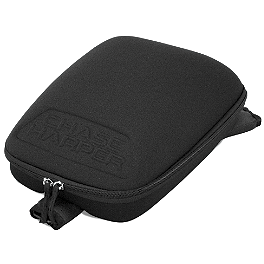 Chase Harper Magnetic 3-Point Mounting Stealth Tank Bag - Chase Harper GR2 Saddlebags With Bungee Net