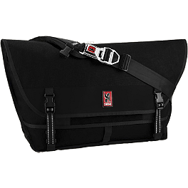 Chrome Industries Metropolis Buckle Messenger Bag - Alpinestars Portal Messenger Bag