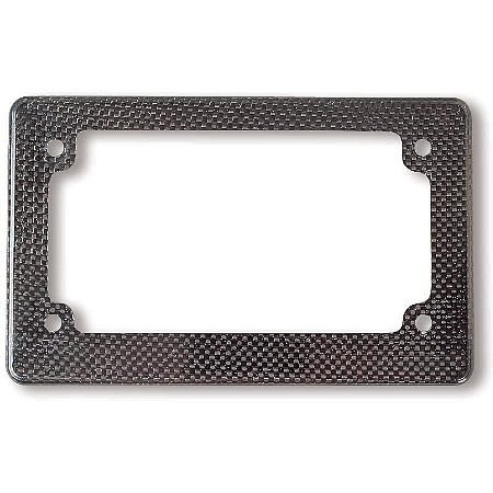 Carbon Works Molded Carbon License Plate Frame - Main