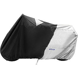 CoverMax Deluxe High Exhaust Pipe Motorcycle Cover - CoverMax Standard Scooter Cover