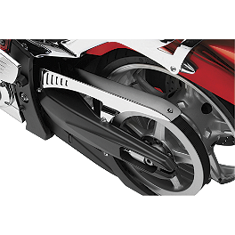 Cobra Drive Belt Guard - Chrome - 2008 Yamaha Road Star 1700 Midnight Warrior - XV17PCM Cobra Headlight Visor - 7 1/2