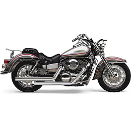 Cobra Dragsters Exhaust - 2000 Kawasaki Vulcan 1500 Classic - VN1500E Cobra Lightbar - Chrome