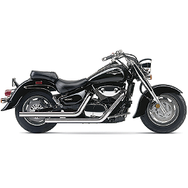 Cobra Dragsters Exhaust - 2007 Suzuki Boulevard C90T - VL1500T Cobra Power Pro HP 2 Into 1 Exhaust