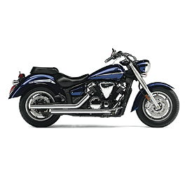 Cobra Dragsters Exhaust - 2013 Yamaha V Star 1300 Tourer - XVS13CT Cobra Power Pro HP 2 Into 1 Exhaust