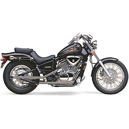 Cobra Drag Pipe Exhaust - 1998 Honda Shadow VLX Deluxe - VT600CD Cobra Fatty Shotgun Exhaust
