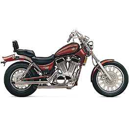 Cobra Drag Pipe Exhaust - 1991 Suzuki Intruder 1400 - VS1400GLP Cobra Headlight Visor - 7 1/2