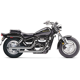Cobra Drag Pipe Slip-On Exhaust - 1999 Suzuki Marauder 800 - VZ800 Vance & Hines Cruzers Exhaust