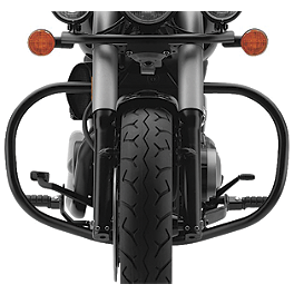 Cobra Freeway Bars - Black - Honda Genuine Accessories Boulevard Screen