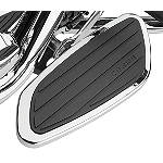 Cobra Front Floorboards Swept - Chrome