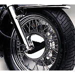 Cobra Front Hub Cover - Cruiser Tire and Wheel Accessories