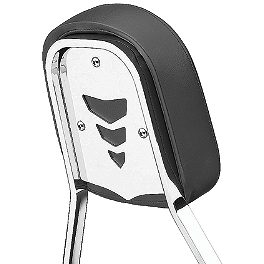 Cobra Steel Sissy Bar Insert - Chevron - Cobra Headlight Visor - 7 1/2