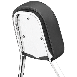 Cobra Steel Sissy Bar Insert - Plain - Cobra Passenger Floorboards - Swept Chrome