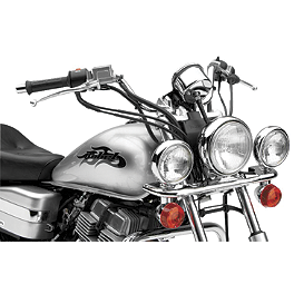 Cobra Lightbar - Chrome - 2000 Honda Rebel 250 - CMX250C Cobra Headlight Visor - 7 1/2